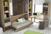 горизонтальная шкаф-кровать 582