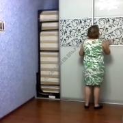 Механизм трансформации вертикальной подъемной кровати 150 x 200 см | СМАРТМЕБЕЛЬ.РФ